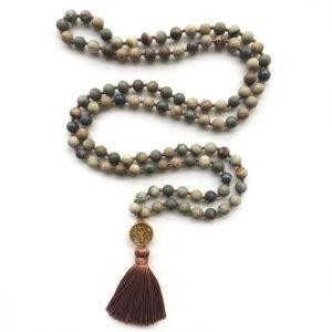 Jasper Meditation Mala Beads