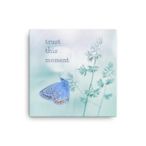 Inspirational Canvas Art with trust message